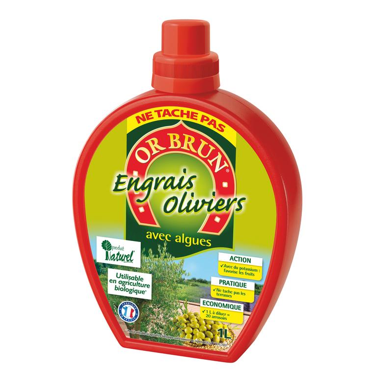 Engrais liquide oliviers 1 L
