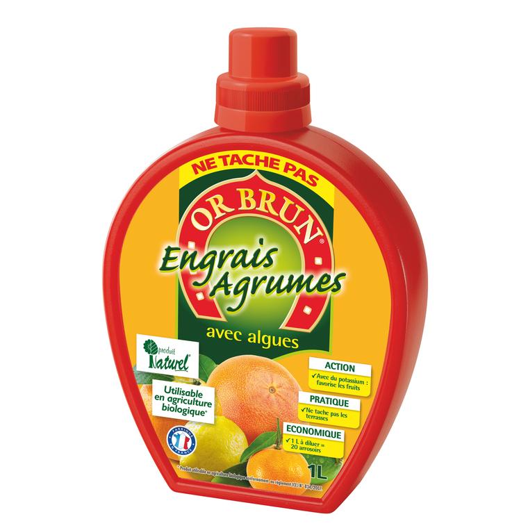 Engrais liquide agrumes 1 L