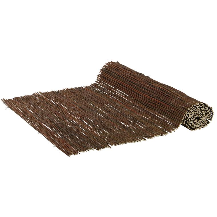 Rouleau d'osier espagnol prêt à poser – 1,5×3 m