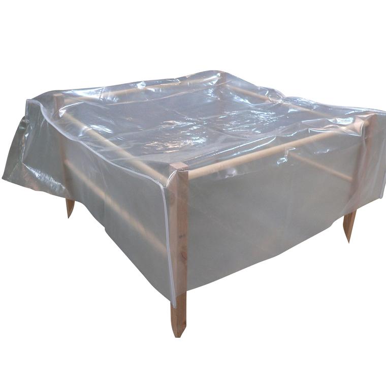 kit serre pr t poser potager carr 120x120 cm botanic. Black Bedroom Furniture Sets. Home Design Ideas