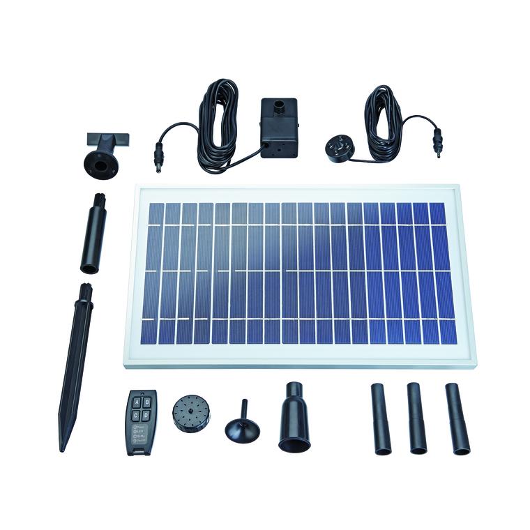 Fontaine solaire télécommandée Pondo Solar 600 Control