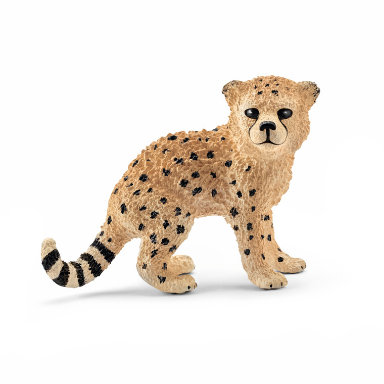 Figurinebébé Guépard Série Animaux sauvages 4,5x2,4x3,6 cm