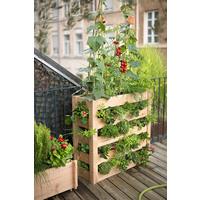 potager vertical en bois botanic jardini res et bacs balcon et terrasse balcon terrasse botanic. Black Bedroom Furniture Sets. Home Design Ideas