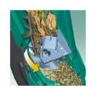 Broyeur de v g taux bosch sac gants 2200 w botanic for Broyeur de feuilles mortes