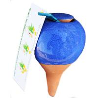 OYAS à planter émaillée bleue