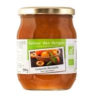 Compote d'abricots bio - 590 gr