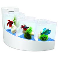 Aquarium Aqua Falls White
