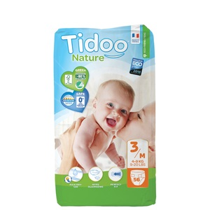 TIDOO - 56x Couches (T3) - 4/9kg