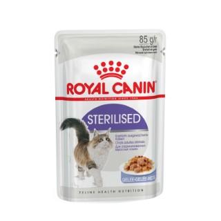 Sterilised jelly aliment pour chats stérilisés/castrés en sachet 85 g 203634