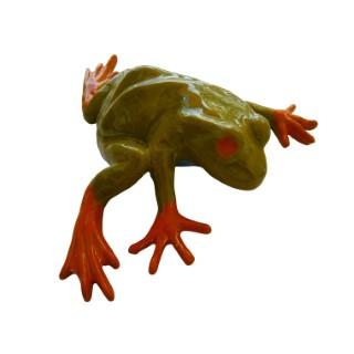 Statue de jardin grenouille rainette H 21 cm 204023
