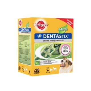 Pedigree Dentastix Fresh Pour Petits Chiens (28 Sticks) 206398