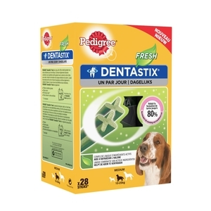 Pedigree Dentastix Fresh Pour Moyens Chiens (28 Sticks) 206399