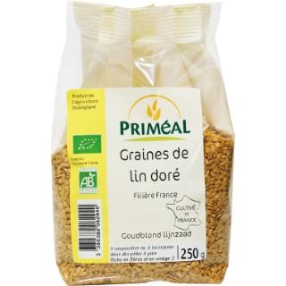 Graines de lin doré 250 g PRIMEAL