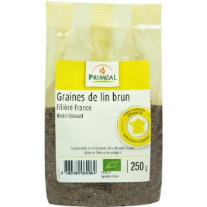 Graines de lin brun 250 g PRIMEAL
