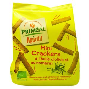 Mini crackers à l'huile d'olive et au romarin 100 g PRIMEAL