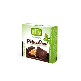 P'tiwi chocolat noir bio 125 g LE MOULIN DU PIVERT