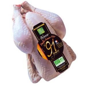 Poulet noir 100% Bio au poids 210400