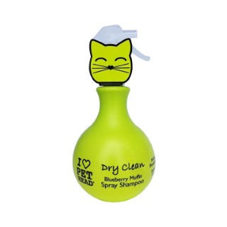 Shampooing sec pour chat Dry Clean Pethead spray 450 ml