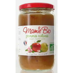 Puree de pomme bio  Mamie bio 680 g