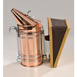 Enfumoir en cuivre avec protection 27x13x27