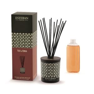 Bouquet parfum Teck Tonka Rechargeable ESTEBAN 100 ml