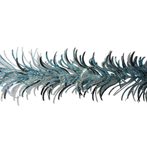 Guirlande Plume Bleue