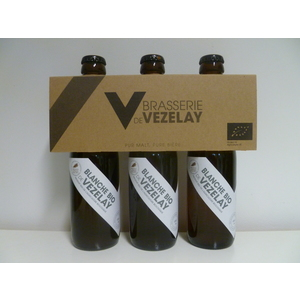 Bière Blanche bio 3 x 25 cl VEZELAY
