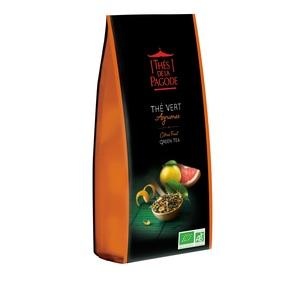 Thé vert Grand Cru aux Agrumes 100 g THE DE LA PAGODE