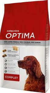 Croquettes pour chien - Cotecnica Optima complet - 4 kg