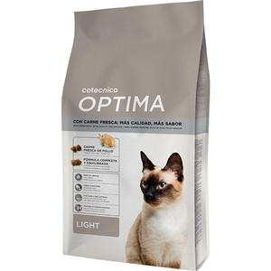 Croquettes light pour chat - Cotecnica Optima - 4 kg
