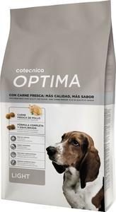 Croquettes pour chien allégées - Cotecnica Optima Light - 20 kg