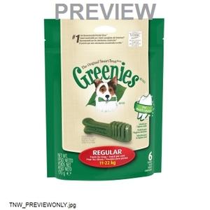 Greenies Regular Pack 170 G