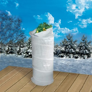 Pop-up hivernage coloris blanc 0,70x1,50 m 218242