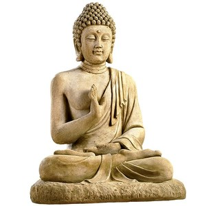 statue bouddha assis botanic. Black Bedroom Furniture Sets. Home Design Ideas