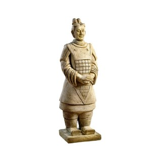 Statue guerrier chinois
