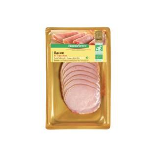 Bacon Bonneterre bio x 10 tranches 100 g 218539