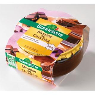 Mousse au chocolat Bonneterre bio 90 g 218557