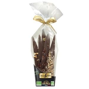 Bouquet de chocolat noir bio à poser 180 g 219755