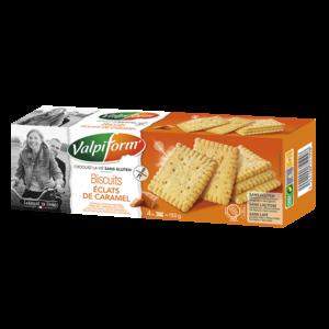 Biscuits éclats de caramel VALPIFORM