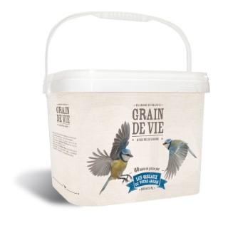 Boules de graisse pour oiseaux x 60 en seau de 5,4 kg 222088