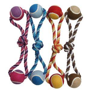 Corde + 2 balles tennis 40 cm 222267