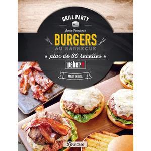 Livre de recettes « Burgers au Barbecue «