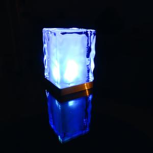 ICY-2 centres de table lumineux en verre