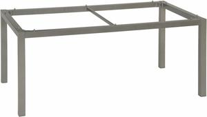 Armature de table grise en aluminium 160 x 90 x 73 cm 222949