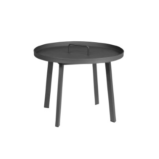 table basse en aluminium anthracite tables et chaises de jardin autres marques balcon terrasse. Black Bedroom Furniture Sets. Home Design Ideas
