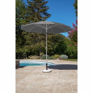 Parasol arc en ciel D 270 cm perle