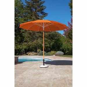 Parasol arc en ciel D 270 cm orange