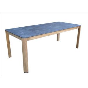 Table de jardin rectangulaire Granit