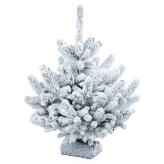 Sapins de no l plantes et fleurs d 39 int rieur et maison - Sapin de noel floque ...
