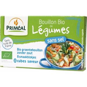 Bouillon de légumes sans sel en cube - 72 gr 224080